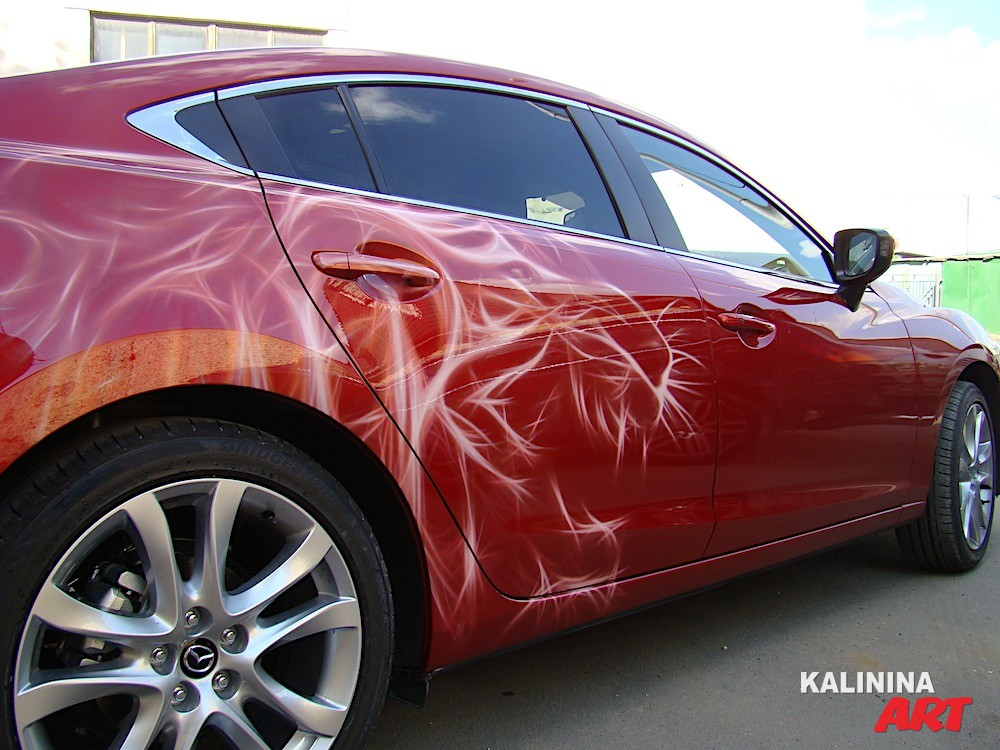 Аэрография Mazda