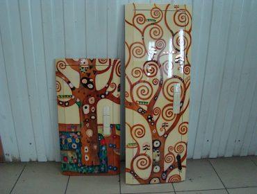 Роспись дверей в интерьере
