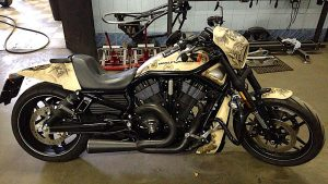 Роспись Harley Davidson