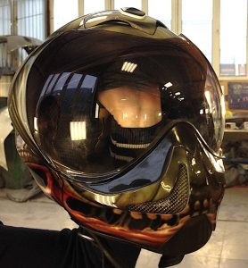 Роспись шлема