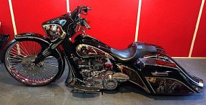 Роспись мотоцикла